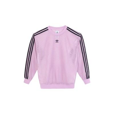ADIDAS ORIGINALS スウェットシャツ ライラック 30 ポリエステル 100% スウェットシャツ