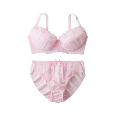シュライフェブラ。ショーツセット(ラージサイズ)(D90/3L) (ブラジャー&ショーツセット)Bras & Panties