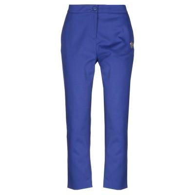 ラブ モスキーノ LOVE MOSCHINO パンツ ブルー 40 コットン 100% パンツ