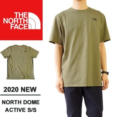 ノースフェイス Tシャツ THE NORTH FACE  Men's NORTH DOME ACTIVE S/S NF0A48V1 H3R BURNTOLVGRNHTHR