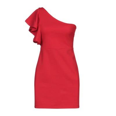 SOALLURE ミニワンピース&ドレス レッド 44 ポリエステル 95% / ポリウレタン 5% ミニワンピース&ドレス