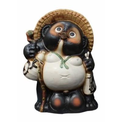 福狸18号 信楽焼 たぬき 陶器 狸 置物 タヌキ 彩り屋 ただいま品切れ中 仕上り予定未定