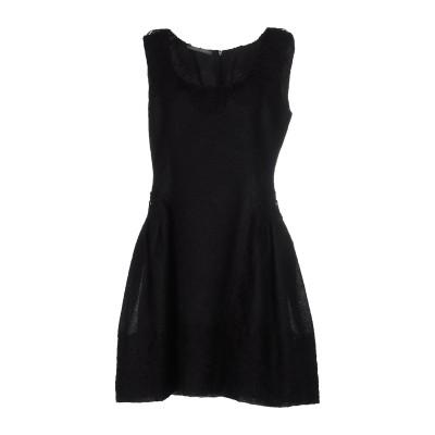 アルベルタ フェレッティ ALBERTA FERRETTI ミニワンピース&ドレス ブラック 40 モヘヤ 46% / シルク 27% / ナイロン