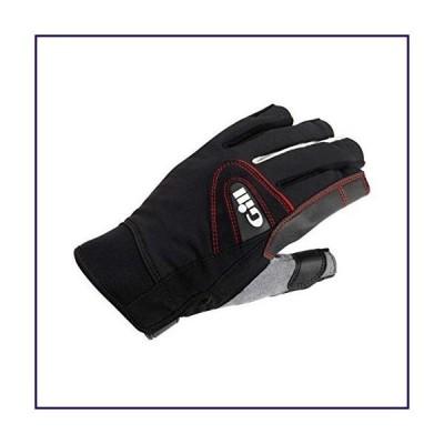 Gill Men's 7242 Short Finger Champion Sailing Glove, Black, Medium【並行輸入品】
