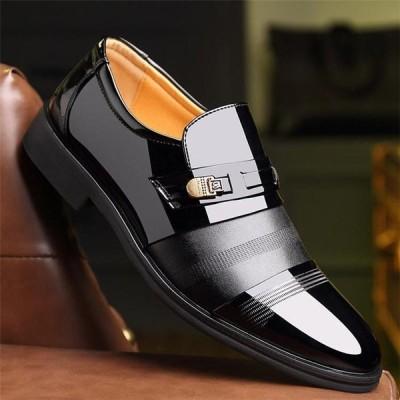 紳士靴 ビジネスシューズ メンズ 男性 革靴 ファッション ビジネス 滑り止め カジュアル レザー 通勤 HY0910015-1
