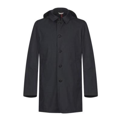MANUEL RITZ マニュエルリッツ ライトコート  メンズファッション  コート、アウター  その他コート ダークブルー