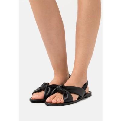 レディース 靴 シューズ BOWE - Sandals - black