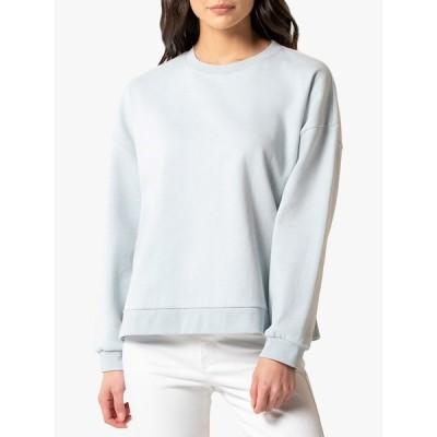 フォーエバー ニュー シャツ レディース トップス Forever New Bridie Button Sweatshirt