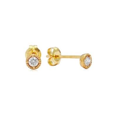 アガット agete K10両耳用ダイヤモンドピアス 1013311206908999