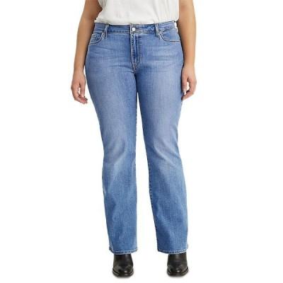 リーバイス デニムパンツ ボトムス レディース Trendy Plus Size 415 Classic Bootcut Jeans Lapis Sights
