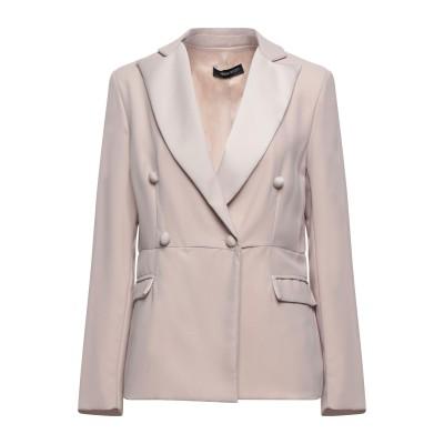 VANESSA SCOTT テーラードジャケット ベージュ S ポリエステル 100% テーラードジャケット
