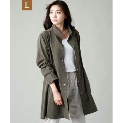 SANYO SELECT / 【L】LIMONTA EASTライトコート WOMEN ジャケット/アウター > ステンカラーコート