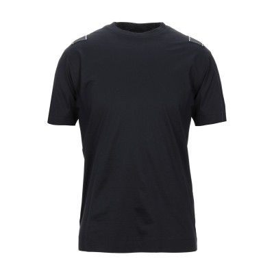 エンポリオ アルマーニ EMPORIO ARMANI T シャツ ブルー S コットン 100% T シャツ