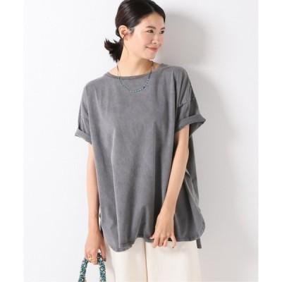 tシャツ Tシャツ Pigment Dyeing ワイドTシャツ