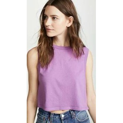 AGOLDE レディーストップス AGOLDE Cropped Muscle Tee Luna