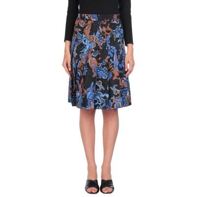 マルニ MARNI ひざ丈スカート ブルー 36 ナイロン 100% ひざ丈スカート