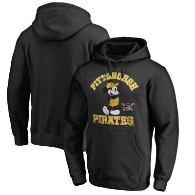 ピッツバーグ・パイレーツ Fanatics Branded Disney Tradition Pullover Hoodie - Black