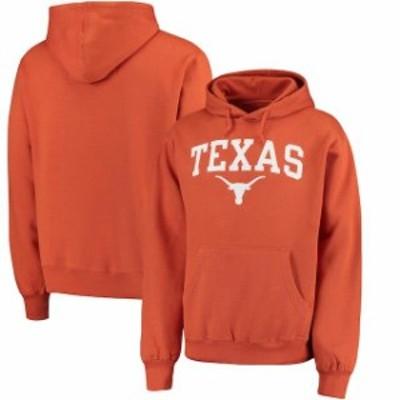 289c Apparel 289アパレル スポーツ用品  Texas Longhorns Texas Orange Arch Basic Pullover Hoodie