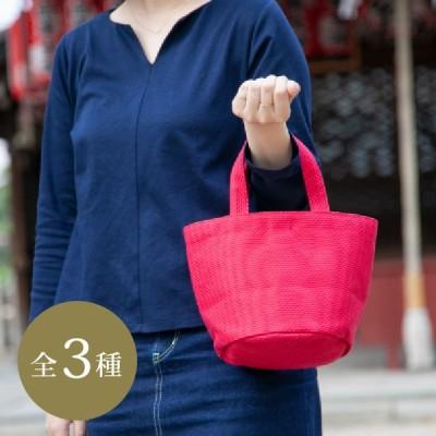 タネイ 刺子織り コールバッグ タネイ バッグ 三河木綿 帆布 sasicco 綿100%  ポケッ