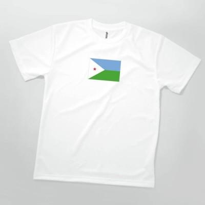 Tシャツ ジブチ共和国 国旗