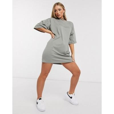 パブリックデザイア レディース ワンピース トップス Public Desire oversized t-shirt dress