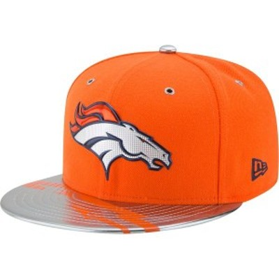 ニューエラ メンズ 帽子 アクセサリー Denver Broncos New Era NFL Spotlight 59FIFTY Fitted Hat Orange