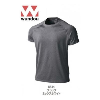 WUNDOU ウンドウ P810 フィットネスストレッチTシャツ
