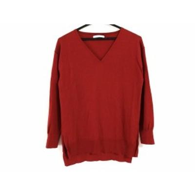 アナイ ANAYI 長袖セーター サイズ38 M レディース レッド【中古】20200513