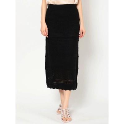 スカート クロシェアミナロースカート