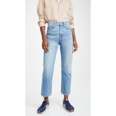 シルバーレーク SLVRLAKE レディース ジーンズ・デニム ボトムス・パンツ London Crop High Rise Straight Leg Jeans Sweet Thing