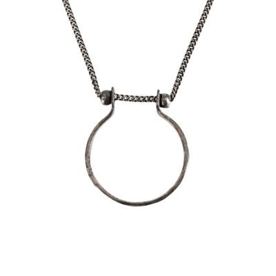SAINT LAURENT ネックレス シルバー 金属 ネックレス