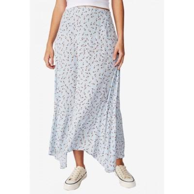 コットンオン Cotton On レディース ひざ丈スカート スカート Florence Midi Skirt Aidan Ditsy Celestial Blue