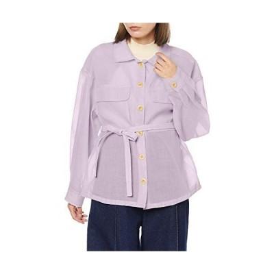 ザ ヴァージニア シャツ シアーカラーシャツ レディース 8010207 ラベンダー 日本 フリー (FREE サイズ)