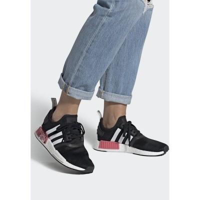 アディダスオリジナルス スニーカー レディース シューズ NMD_R1  - Trainers - core black/footwear white/hazy rose