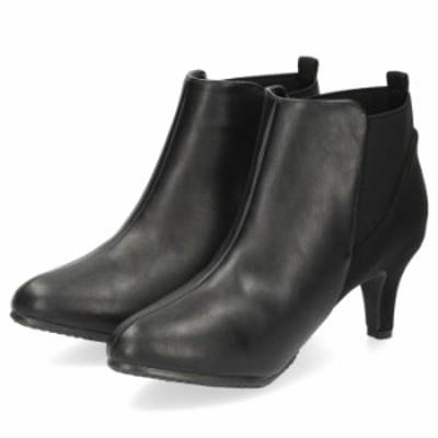 LOILO ロイロ 靴 1905 ブーツ レディース ヒール ショートブーツ サイドゴア 防水設計 撥水 防滑 カジュアル