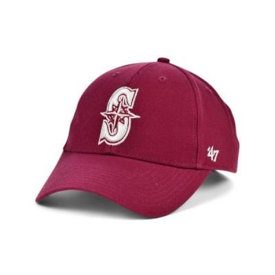 47ブランド レディース 帽子 アクセサリー Seattle Mariners Cardinal MVP Cap
