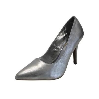 レディース 靴 ドレスシューズ Metallic Pointed Toe Women's Pumps