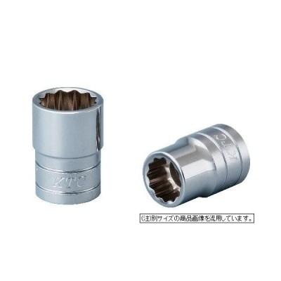 京都機械工具(KTC) ソケット 12角 B4-22W-H 差込角:12.7mm