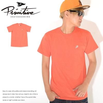 アウトレット PRIMITIVE プリミティブ Tシャツ 半袖 左胸ミニクラシックPロゴ  セール