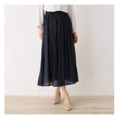 【シューラルー/SHOO・LA・RUE】 【M-LL】RNボイルロングスカート