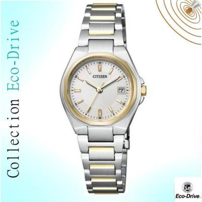 シチズン  エコ・ドライブ  腕時計 10気圧防水 女性用CITIZEN デイト3針コレクション EW1384-66P