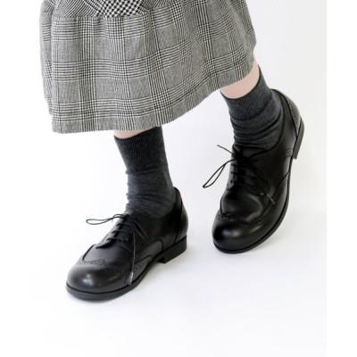 Quorinest / 21SS■LARAMIE LOW/ララミーロー ナチュラルレザー ブラック(WOMEN) WOMEN シューズ > ドレスシューズ