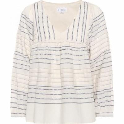 ベルベット グラハムandスペンサー Velvet レディース トップス Mixed stripe cotton top Multicolor
