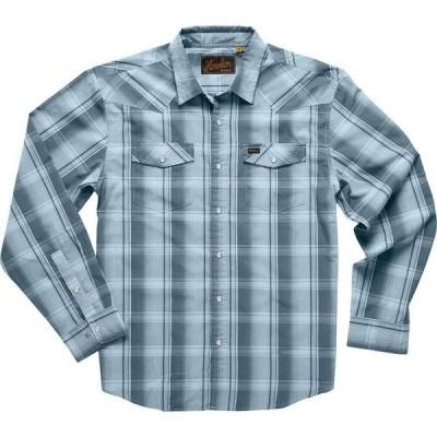 ホウラーブラザーズ Howler Brothers メンズ シャツ トップス H Bar B Long - Sleeve Shirt Thornton Plaid/Undersea Blue