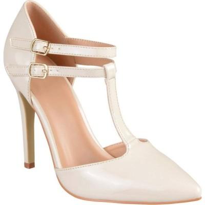 ジュルネ コレクション Journee Collection レディース パンプス シューズ・靴 Tru Pump Off-White