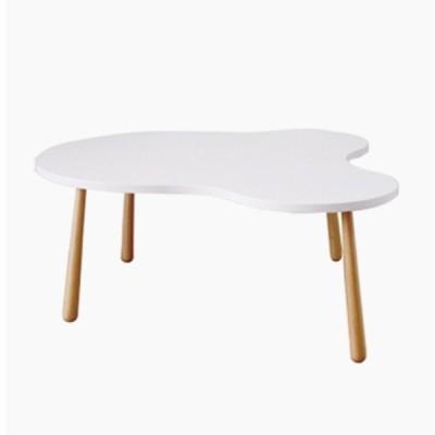 テーブル Sサイズ ローテーブル CR 北欧 木製 シンプル 一人暮らし 新生活  ホワイト おしゃれ 北欧 かわいい 子供部屋 キッズ