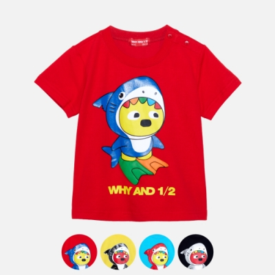WHY AND 1/2 mini 棉質萊卡T恤 多色可選 1Y ~ 4Y