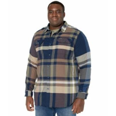 コロンビア メンズ シャツ トップス Big & Tall Flare Gun¢ Stretch Flannel Collegiate Navy