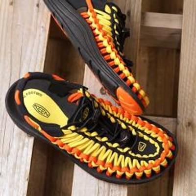 キーン送料無料 キーン KEEN レディース ユニーク フラット WOMEN UNEEK FLAT サンダル 靴 Vibrant Yellow/Flame (1020799 SS19)