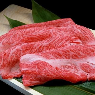 国産 牛肉 肩ロース すき焼き しゃぶしゃぶ用 肉 200g 黒毛和牛の血統を持つF1交雑牛 肩ロース クラシタのスライス肉
